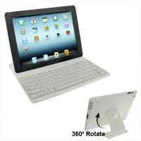 Bluetooth Tastatur für Apple iPad 2 / 3 / 4 - Weiss