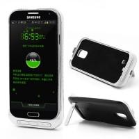 Battery Pack Case (3200 mAh) für Samsung Galaxy S4 - Schwarz